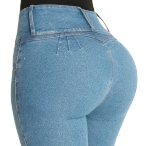 045e40e24fc Fiorella Shapewear. Butt Lift Jeans High Rise ...